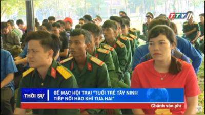 Tây Ninh – Bế mạc Hội trại Tuổi trẻ Tây Ninh tiếp nối hào khí Tua Hai.