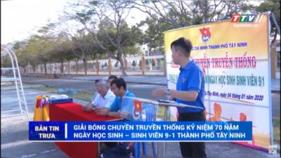 Tây Ninh – Giải bóng chuyền truyền thống kỷ niệm 70 năm ngày học sinh - sinh viên 9-1