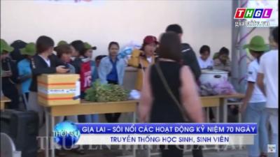 Gia Lai - Sôi nổi các hoạt động nhân Ngày truyền thống Hội Sinh viên Việt Nam.