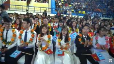 """Lễ tuyên dương danh hiệu """"Sinh viên 5 tốt"""" và """"Tập thể Sinh viên 5 tốt"""" cấp Trung ương 2019."""