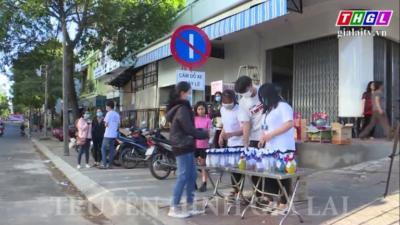 Gia Lai - Tuổi trẻ Gia Lai tích cực tuyên truyền phòng chống bệnh nCoV19