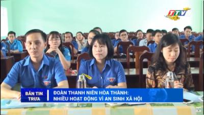 Tây Ninh - Tuổi trẻ Tây Ninh tự hào tiến bước dưới cờ Đoàn quang vinh.