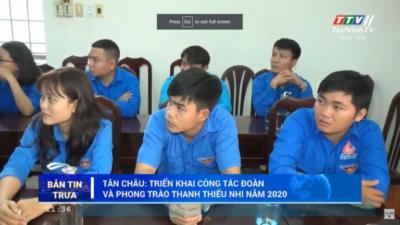 Tây Ninh - Thị đoàn Hoà Thành thi vẽ tranh cổ động phòng, chống dịch COVID-19.