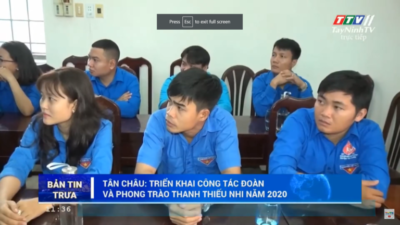 Tây Ninh - Đoàn cơ sở Bệnh viện đa khoa tỉnh Tây Ninh chung tay phòng dịch Covid-19.