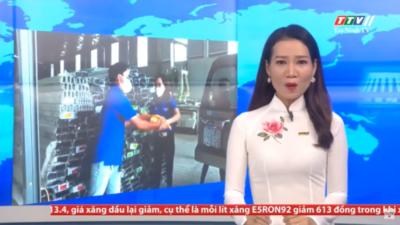 """Tây Ninh - Vận động 01 tấn gạo cho mô hình """"Bữa cơm 0 đồng"""" của thị đoàn Hoà Thành."""