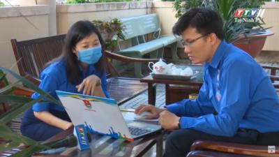 Tây Ninh - Tỉnh đoàn Tây Ninh tuyên truyền cho đồng bào Khmer phòng, chống dịch Covid-19.