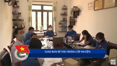 Quảng Nam – Giao ban Bí thư Đoàn cấp huyện.