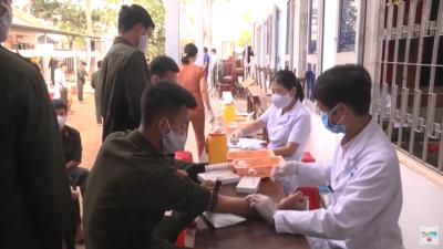 """Quảng Nam – Tuổi trẻ Công an tỉnh Quảng Nam """"Hiến máu tình nguyện mùa Covid""""."""