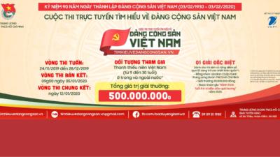 Phóng sự cuộc thi Tìm hiểu về Đảng Cộng sản Việt Nam.