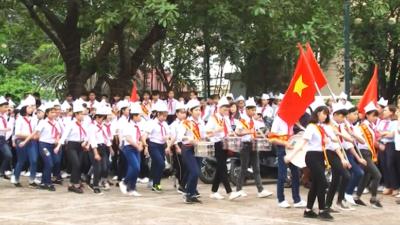 Hòa Bình - Phong trào thiếu nhi học tập 5 điều Bác Hồ dạy