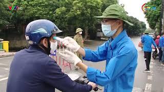 Phòng tuyến áo xanh chung tay chống dịch covid - 19