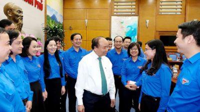 Thủ tướng Chính phủ làm việc với Trung ương Đoàn